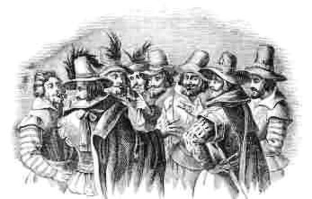 Discovery of Gunpowder Plot