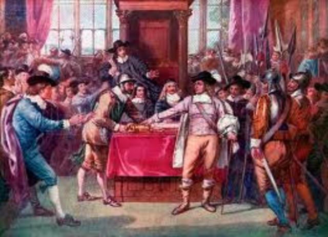 Charles I Dissolved Parliament