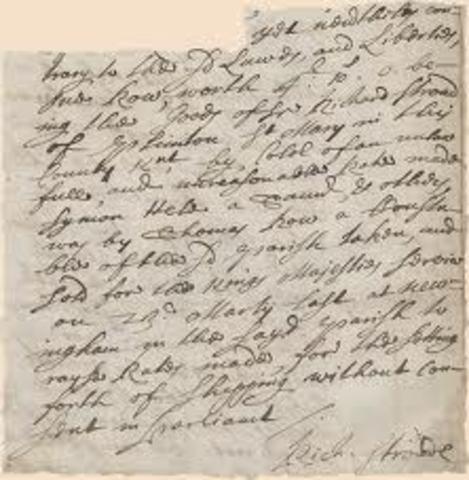 Declaration that Ship Money is Illegal