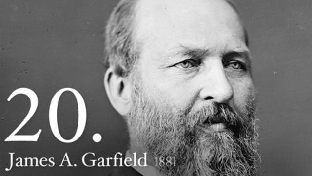 James A. Garfield(1881)