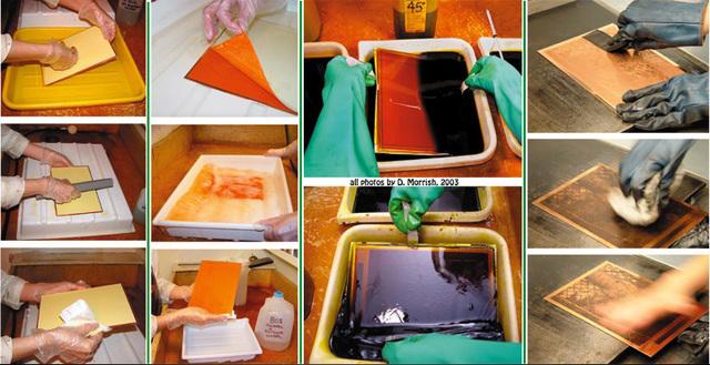 La naissance de photogravure