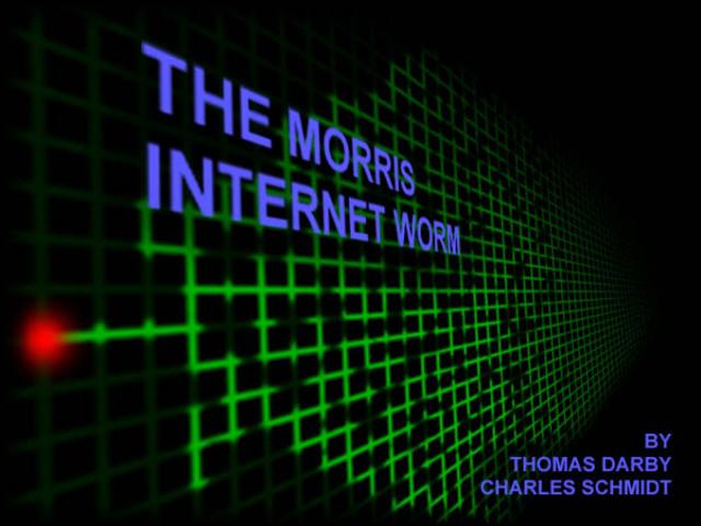 the 'internet worm'