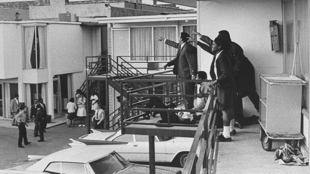 Dr. Martin Luther King Assassinated