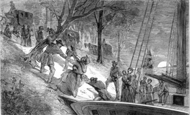 Underground Railroad establishment