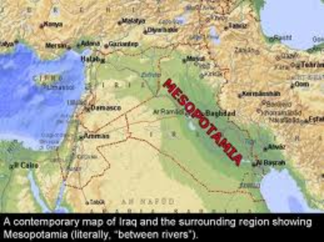 Mesopotamia (located in modern Iraq)