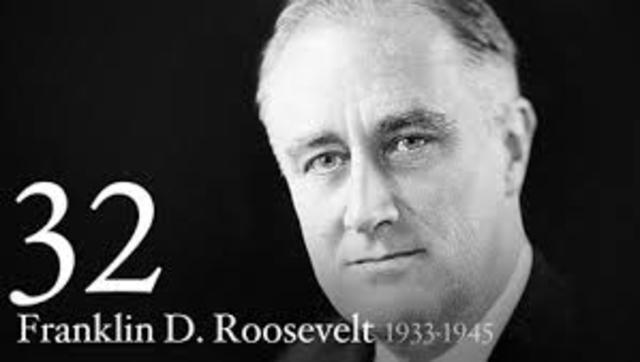 Rosevelt Elected presidency