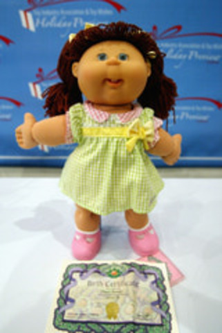 Cabbage Patch Kids made Popular