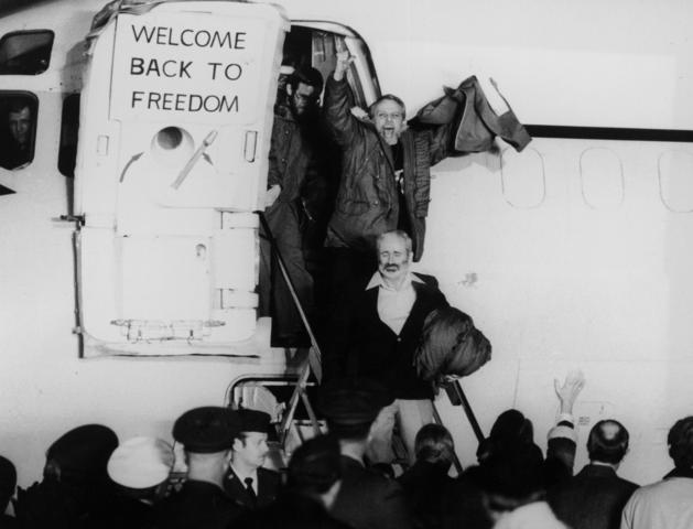 Les 52 otages americains sont liberées