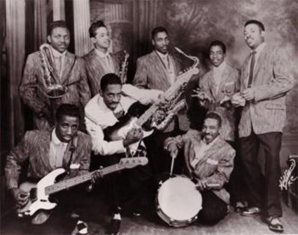 Jackie Brenston and Ike's Turner Kings of rhythm-Rocket 88