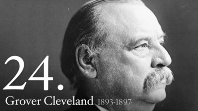 Grover Cleveland(1893-1897) 2nd term