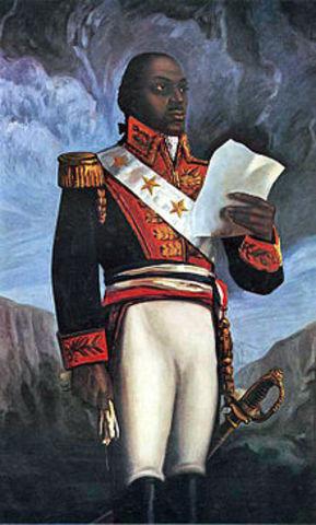 Death of Toussaint LOuverture