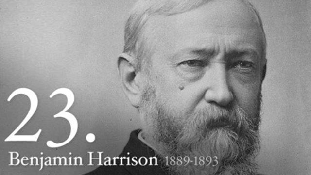Benjamin Harrison (1889- 1893)