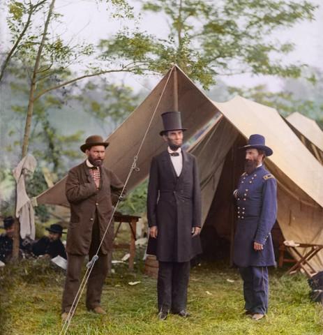 The Battle of Antietam begins
