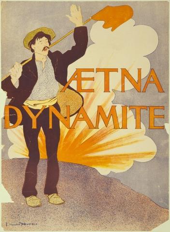 Alfred Nobel creates dynamite