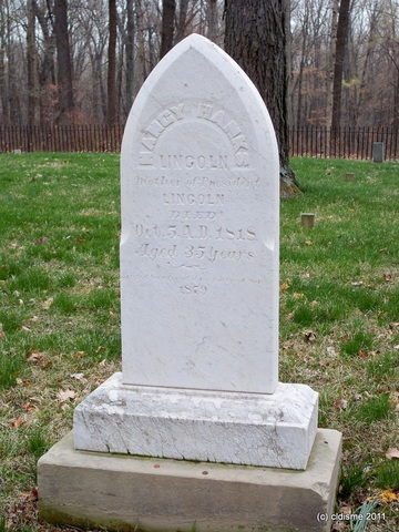 Abraham Lincoln's mother dies