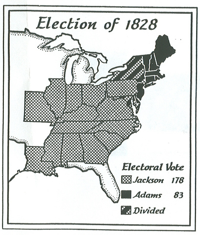 Jackson in the Election of 1828