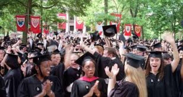 Je diplômé de l'Université de Harvard