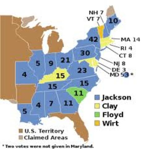 Jackson in the Election of 1832