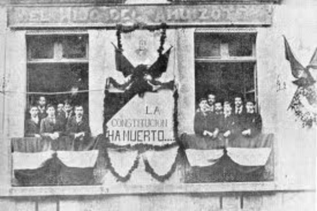 Formacion de Clubs liberales contra la dictadura porfirista.