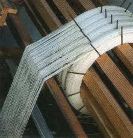 Industria textil de lana en Gran Bretaña