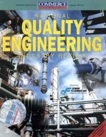 Aparece la Revista Quality Engineering
