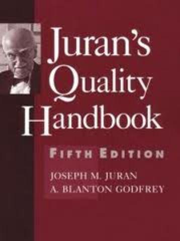 Primera Edición de Quality Control Handbook