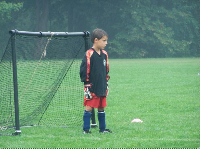 Je commence à jouer au soccer compétitif