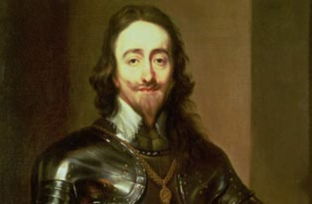 King Charles I Inherits the Throne
