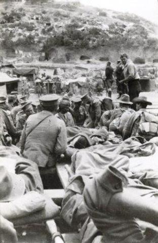 Evacuation of Gallipoli begins
