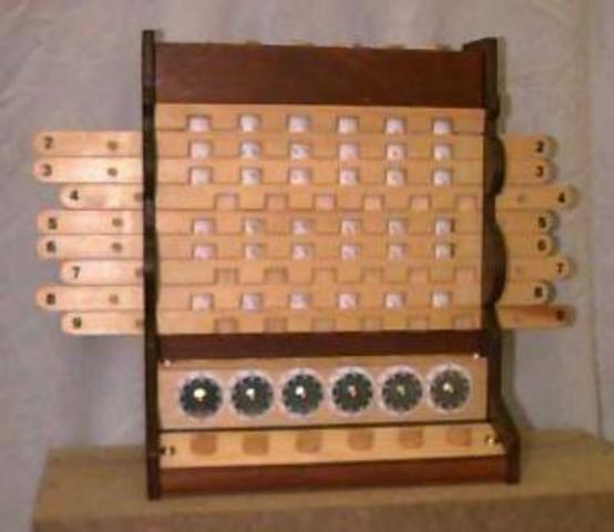Primera máquina de calcular