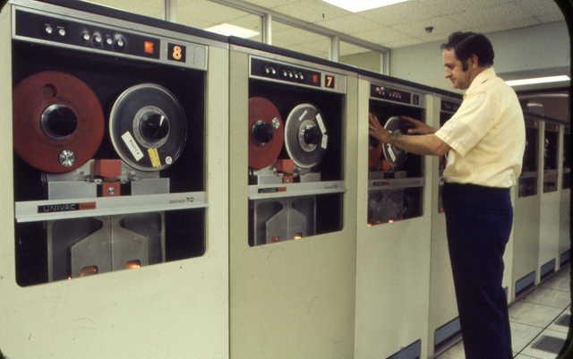 Fueron introducidas las unidades de cinta