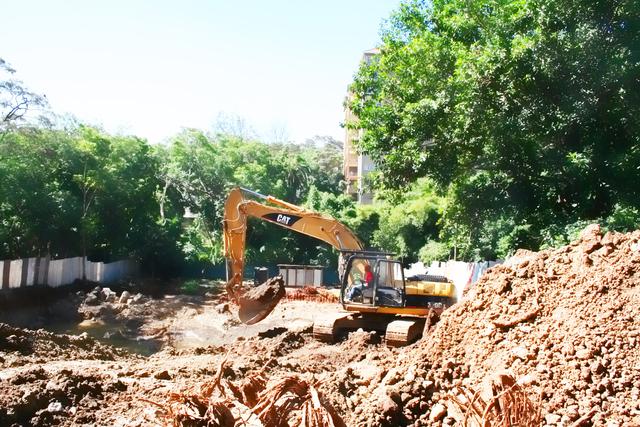 Construction Video Update - Excavation