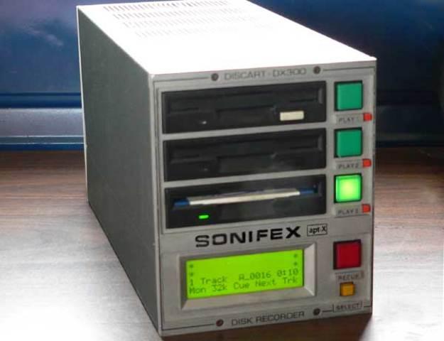 Sonifex Discart Machine