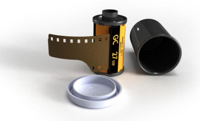 Le film dans les caméra