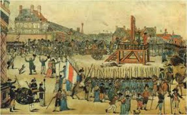 The Execution of Maximilien Robespierre