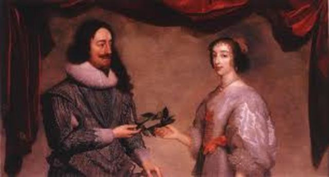 The Wedding of King Charles I and Henrietta Maria
