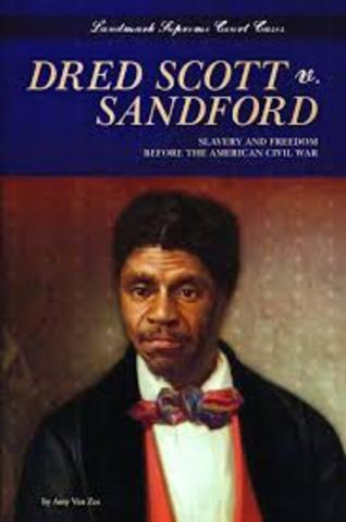 Dred Scott vs. Sanford