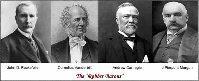 Captains of Industry/ Robber Barons