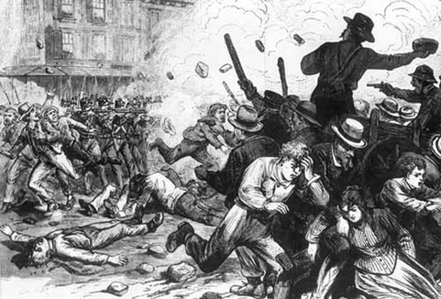 Strikes during the Gilded Age