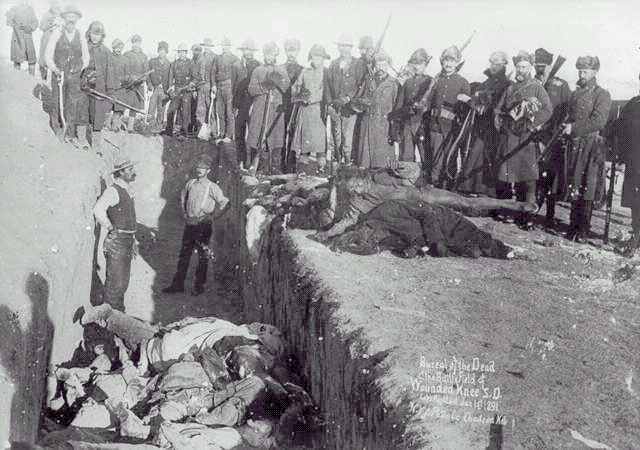 The American Frontier - The Wounded Knee Massacre
