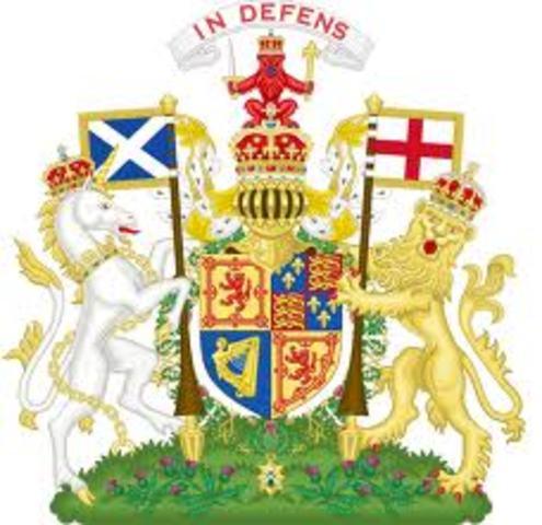King Charles VI of Scotland becomes King Charles I of England
