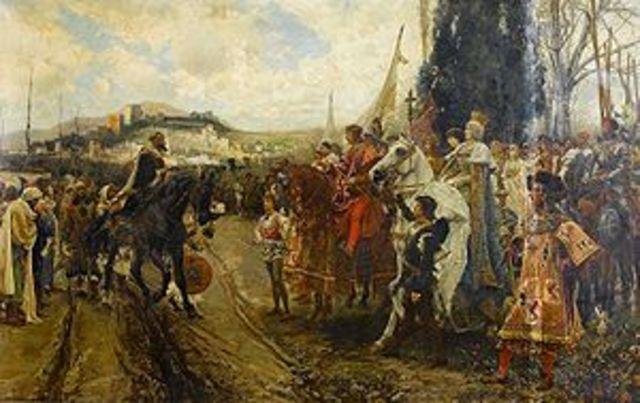 The expulsion of the Moors