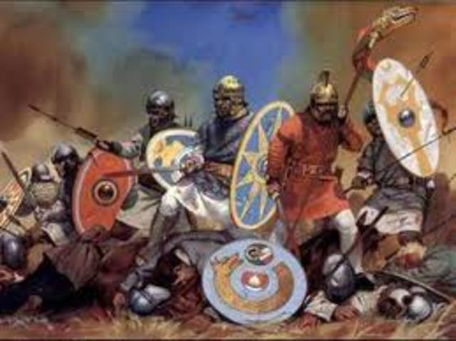 inicio de las invasiones germanicas