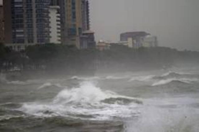 Cuba meets hurricane sandy