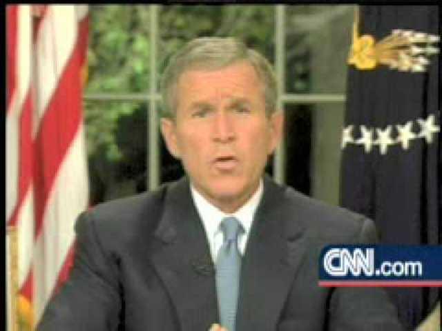 President Bush declares National Emergency