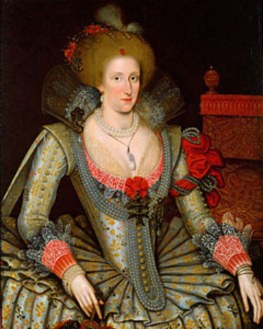 King James I Marries