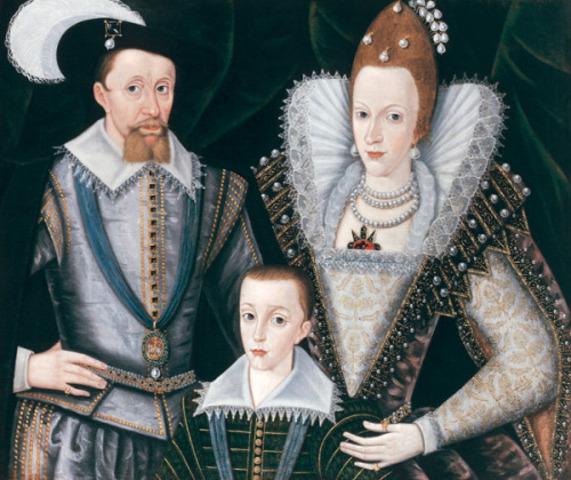 Charles I Is Born