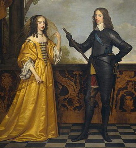 William of Orange and mary given the throne