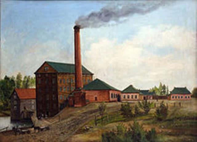 Steam- powered Mills