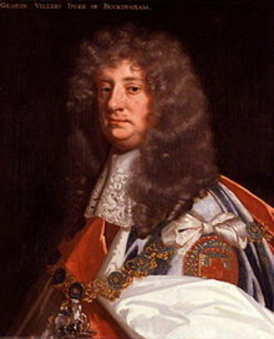 Parliament Dismisses Duke of Buckingham